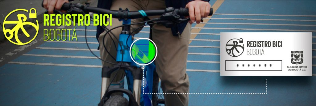 Registro bicis Bogotá